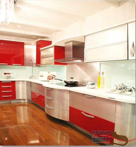 Curves & Bevels Designer Kitchens