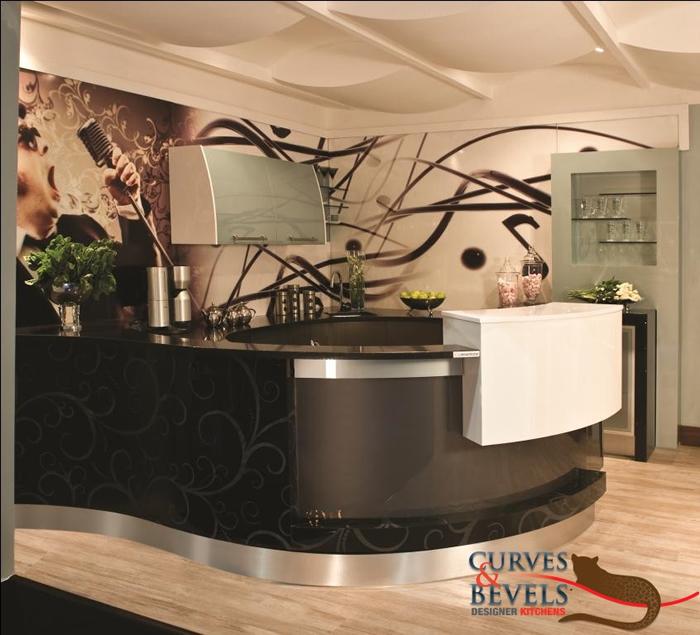 Bars 3 - Curves & Bevels Designer Kitchens